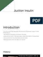 Production Insulin