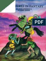 Adventures in Fantasy Corebook