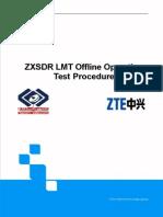 ZXSDR LMT Offline Operation Test Procedure