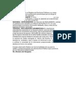 DECLARACION JURAMENTADA INGRESOS