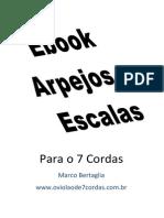eBook Arpejos e Escalas