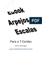 eBook Arpejos e Escalas