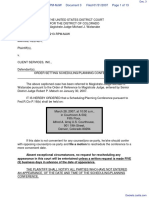 Keener v. Client Services, Inc. - Document No. 3