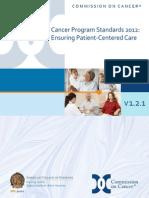 Cancer Program Standards 2012