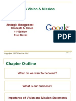 Chapter 2 the Business Vision & Mission