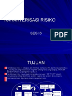 Manajemen Resok - karakterisasi risiko