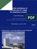 Steyerberg Prediction Modeling 7 Steps Jan10