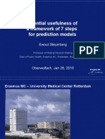 Steyerberg Prediction Modeling 7 Steps Jan10
