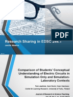 Research Sharing for EDSC 244.1