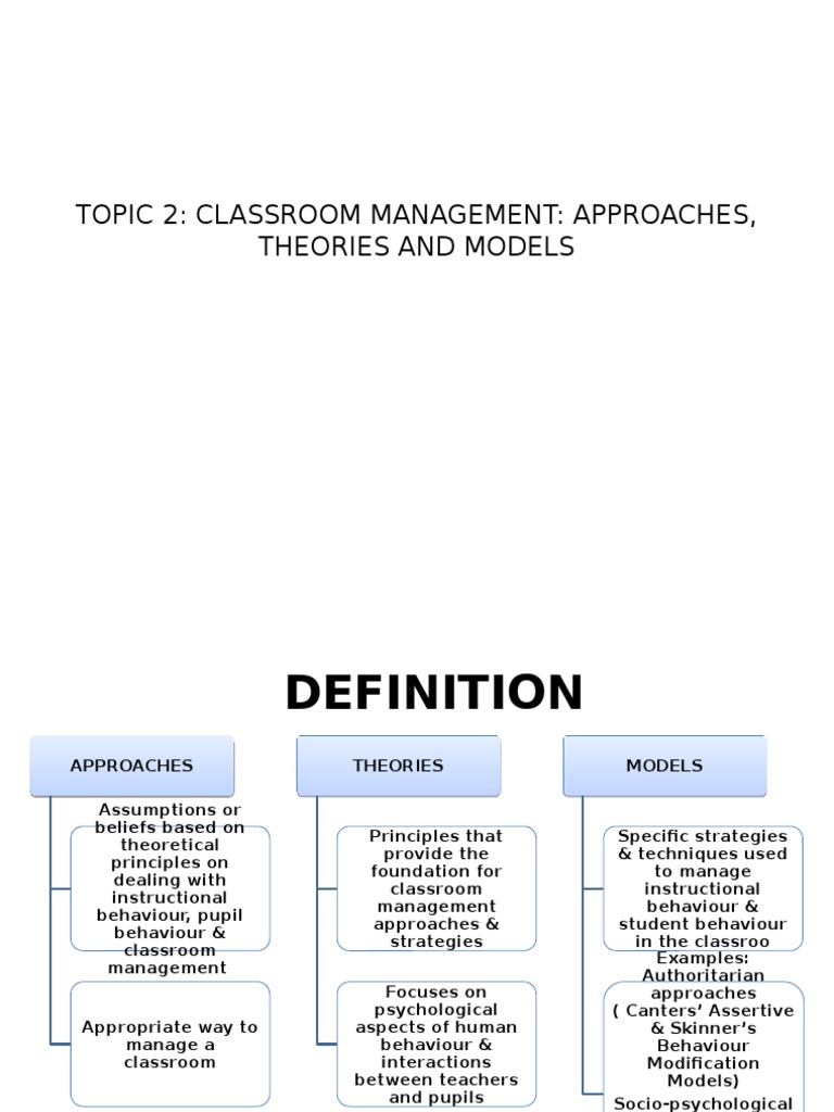topic 2 | reinforcement | classroom management
