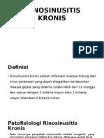 RINOSINUSITIS KRONIS