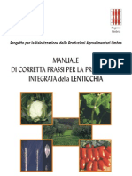 manuale produzione lenticchia