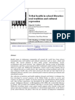 Tribal health in school libraries
