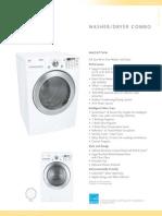LG WM3677 Washer Dryer Ventless WM3677HWss