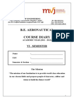 6th Sem Course Diary