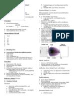 Diagnostic Procedures for Primary Hemostasis