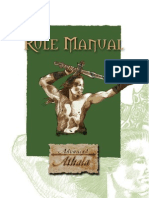 Athala Rule Manual