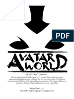 Avatar World Rulebook