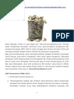 Standar Operasional Prosedur Pengelolaan Keuangan APBD 20122