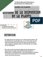 Estudio de La Disposicion de La Planta