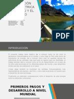 Generación Hidroeléctrica en El Peru y El Mundo