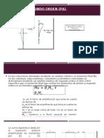 Efectos de Segundo Orden (PΔ)