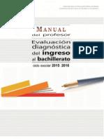 Evaluación Diagnóstica Ingreso a Bachillerato P