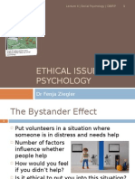 Ethical Issues in Psychology