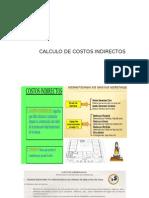CALCULO COSTOS INDIRECTOS