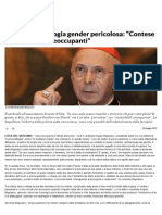 Bagnasco, Ideologia Gender Pericolosa