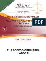AYUDA 7 - El Proceso Ordinario Laboral