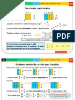 Fraccionesequivalentes Reducion de Fracciones