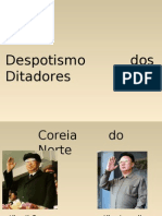 Power Point Do Despotismo
