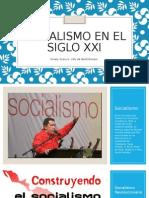 Socialismo en El Siglo XxI