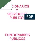 Funcionarios y Servidores Publicos
