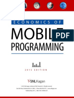 Economics of Mobile Programming