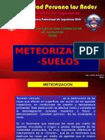 Geologia - Clase VII - Meteorizacion Suelos