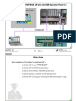 10 - Introduction to PROFIBUS DP and the HMI Operator Panel