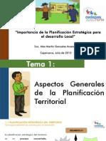CN - Importancia de La Planificación Concertada Territorial