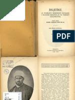 Sejfudin Kemura - Biljeske iz proslosti Bosanskih Katolika