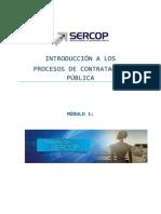 Modulo 1 - Presentacion Sercop