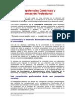 IPEFI. Competencias Genéricas y Formación Profesional