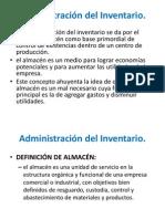 Administración Del Inventario logisticos