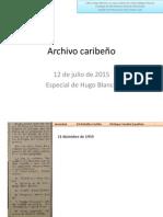 12 de julio de 2015 Archivo Caribeño Hugo Blanco Definitivo