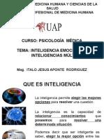 II UAP. Psicología Médica Inteligencia Emocional y Inteligencias Múltiples 7 Semana