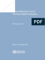 GlobalRefListCoreIndicators V5 17Nov2014 WithoutAnnexes