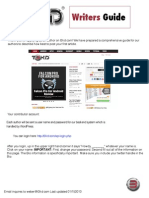 Wordpress Posting Guide