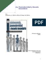 Adolecencia Posmodernidad y Escuela Sec