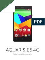 Manual Aquaris E5 4G