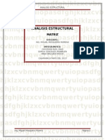 Matrices Analisis